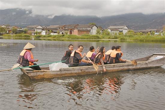 洱源西湖:泽国美境荡清波