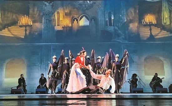 舞劇版《劇院魅影》在昆首演