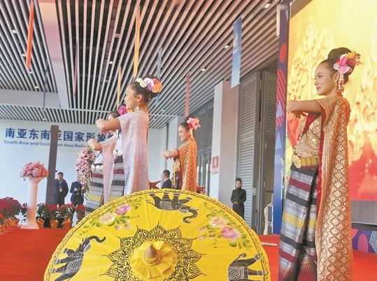 """""""永不落幕的南博會""""首個國家形象館開館"""