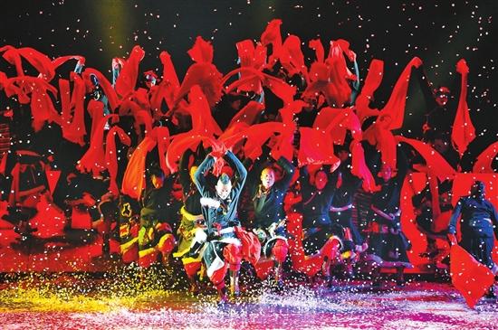 《云南映象》在国家大剧院上演