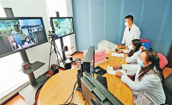 滇企远程可视医疗平台助力抗疫