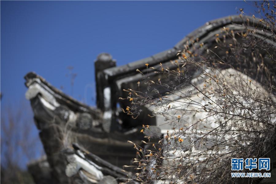 喜洲古镇建筑一隅(12月14日摄)。新华网 丁凝 摄