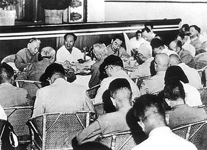 毛泽东60年代初的几次自我批评