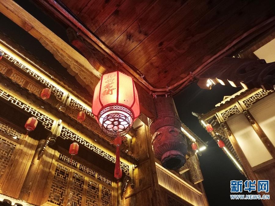 图为扎西老街一隅(1月27日摄)。新华网 段仙艳 摄