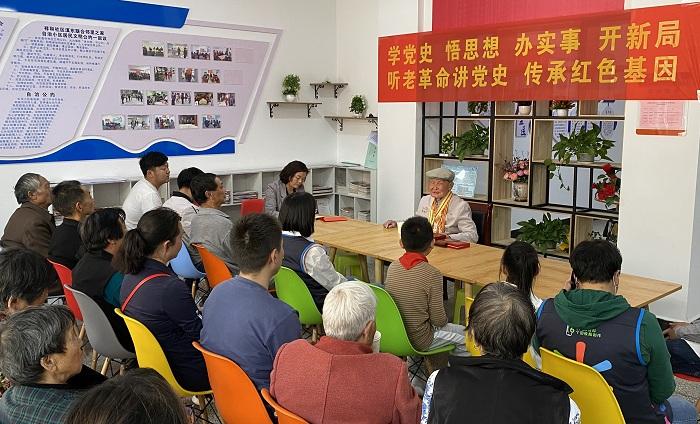 麒麟:93岁老党员讲述红色故事