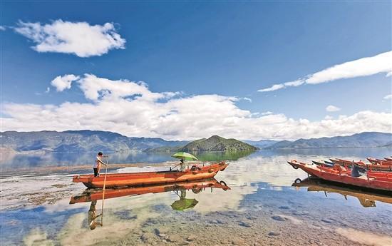 瀘沽湖水質穩定保持Ⅰ類